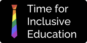 Time for Inclusive Education (TIE) logo